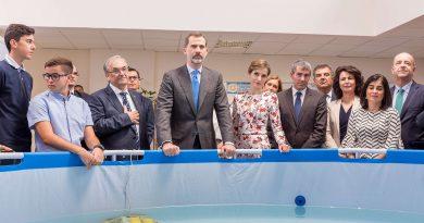 Visita de SS.MM. Los Reyes de España