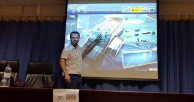 Divulgación del proyecto ROVINO con motivo del día Arduino en Gran Canaria