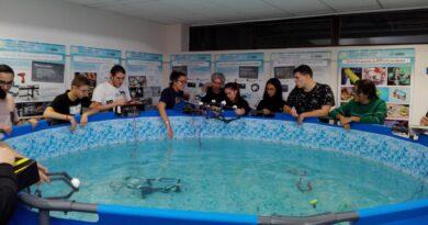 Nueva edición del Taller Presencial de Robótica Submarina en las instalaciones de la sede en tierra de PLOCAN